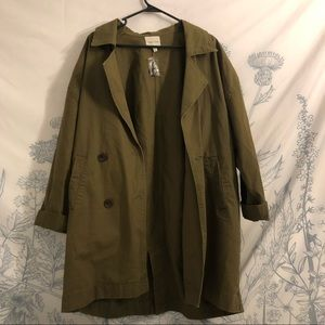 Urban Outfitters new Parka Jacket/Trench Coat